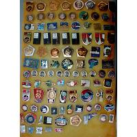 Space Authentic Soviet Pins