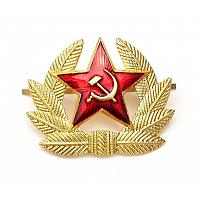Soviet Army Soldier Hat Badge