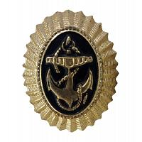 Russian Navy Hat Badge