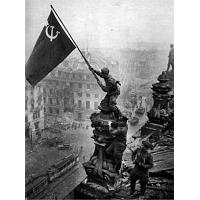 Victory Banner Soviet Photograph