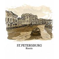 Saint Petersburg Canal T-Shirt
