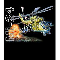 Mi-24 Attack Helicopter T-Shirt