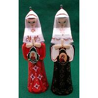 Orthodox Nun Christmas Ornament
