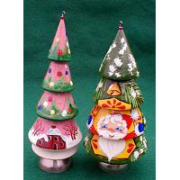 Christmas Tree Ornament with Bell