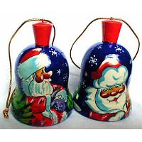 Jolly Santa Christmas Ornament