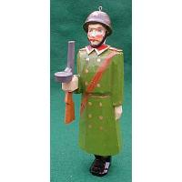 Soviet Soldier Christmas Ornament