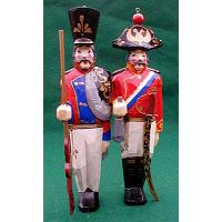 Russian Empire Soldier Ornament