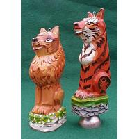 Tiger / Lion Christmas Ornament