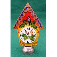 Clock Christmas Ornament with Bell