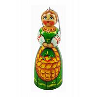 Russian Lady Christmas Ornament