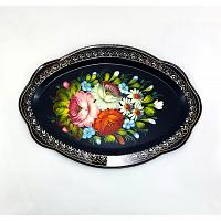 Floral Marvel Russian Tray