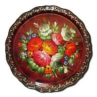 Summer Bouquet Russian Tray