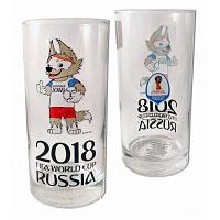 2018 Football World Cup Glass