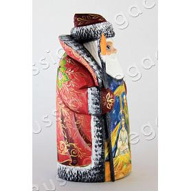 Santa Claus: Nativity Carved Figurine 2