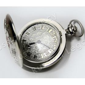 Moscow Molnija Pocket Watch 2