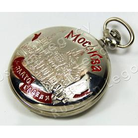 Moscow Molnija Pocket Watch 3