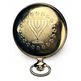Star of David Molnija Pocket Watch 3