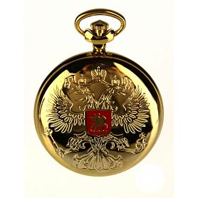 Gold Moscow Russian Pocket Watch 3