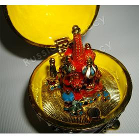 St. Basil's Cathedral Faberge Style Egg 3
