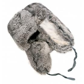 Rabbit Fur Russian Trooper Hat 2