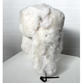 Rabbit Fur Russian Aviator Hat 2