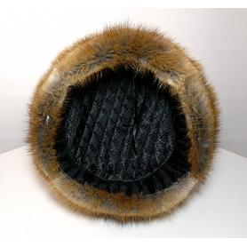 Natural Russian Muskrat Hat 3