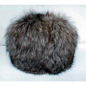 Women's Silver Fox Full Fur Hat 2