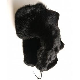 Rabbit Fur Russian Ushanka Hat 2