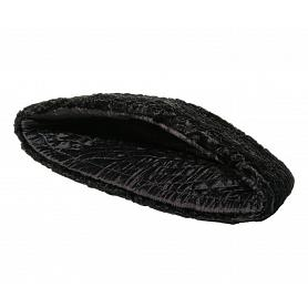 Faux Astrakhan Fur Wedge Hat 3