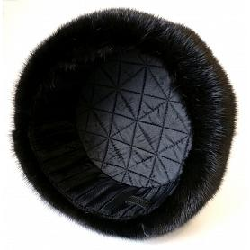 Real Mink Fur & Leather Trapper Hat 3