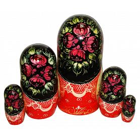 Russian Winter Nesting Doll 2