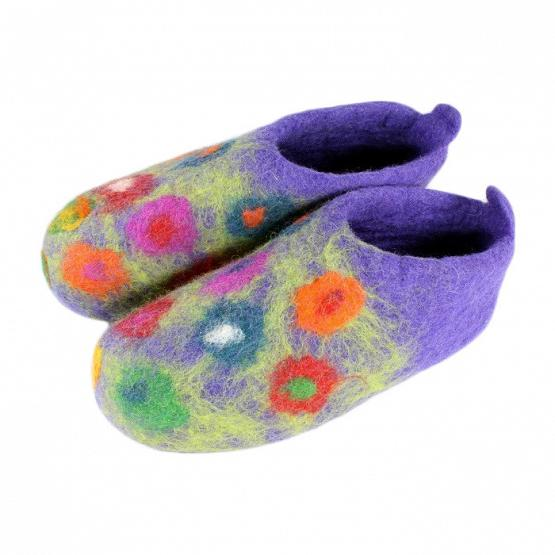 Women's Handmade Felt Slippers 1
