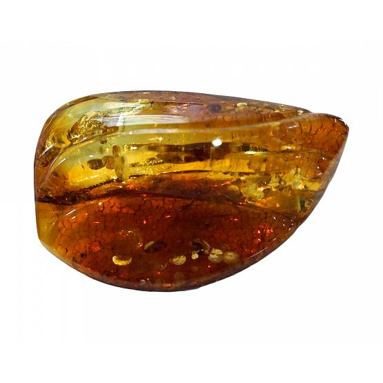 Honey Amber Brooch