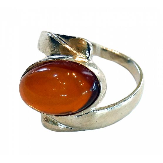 Honey Amber Ring