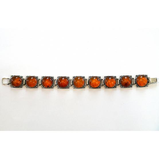 Honey Amber Section Bracelet