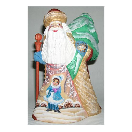 Santa Carved Figurine 1