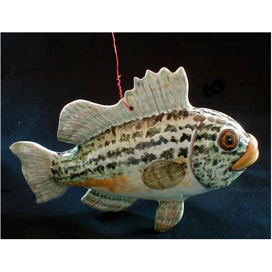 Fish Porcelain Figurine