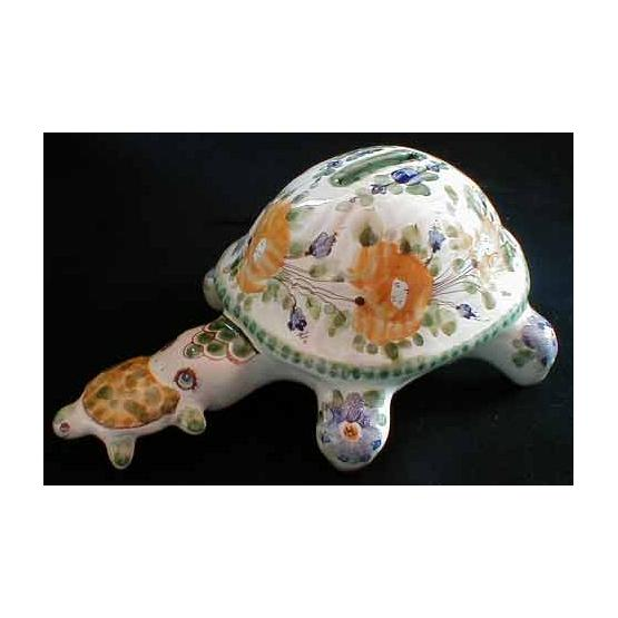 Turtle Porcelain Figurine