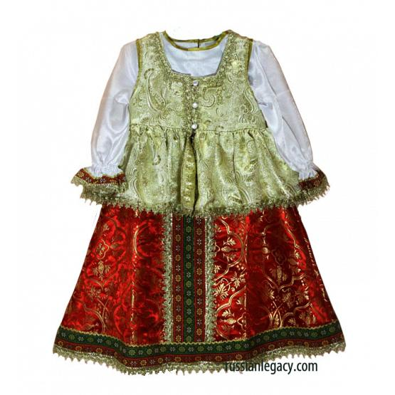Preschool Russian Folk Dress