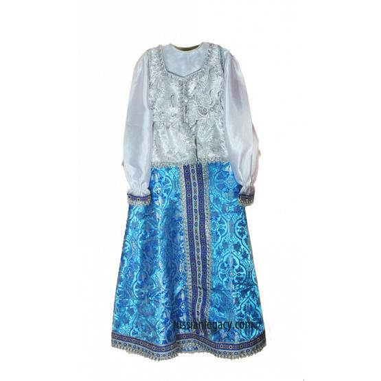 Teenager Russian Folk Dress
