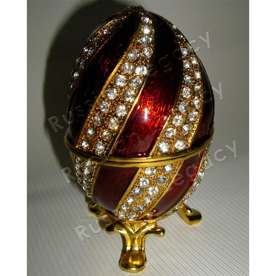 St. Basil's Cathedral Faberge Style Egg 1