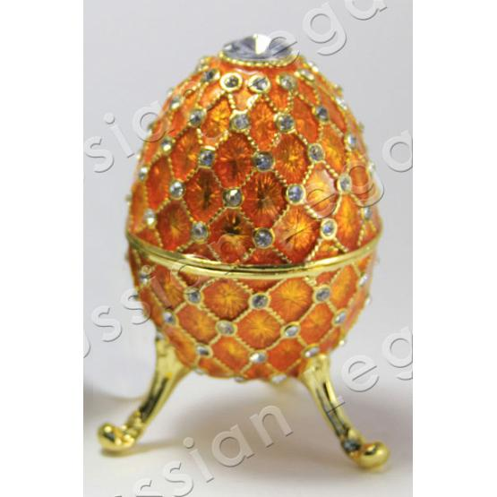 Gold Faberge Style Egg 1