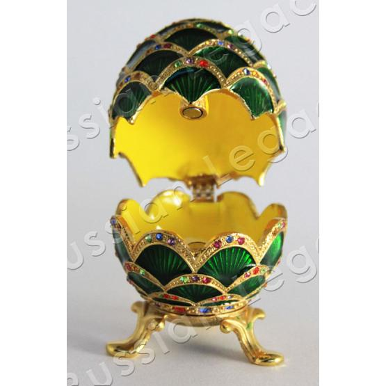 Pine Cone Faberge Style Egg 2