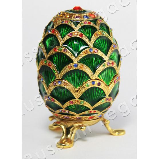 Pine Cone Faberge Style Egg 1