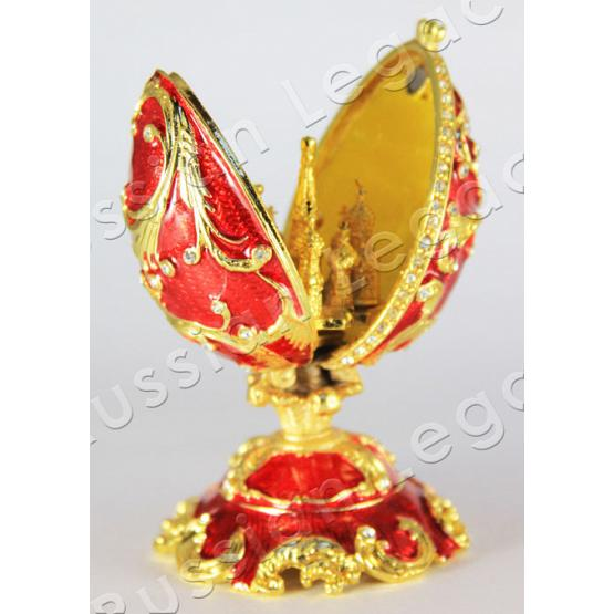 Ruby Faberge Style Egg 2