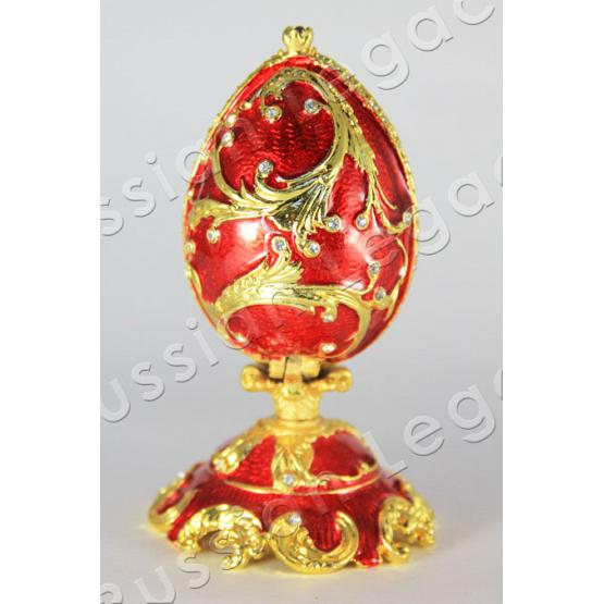 Ruby Faberge Style Egg 1