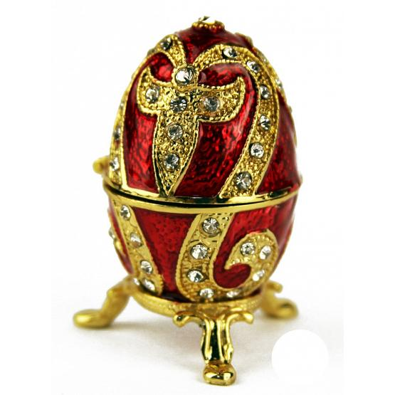 Ruby Lily Faberge Style Egg 1