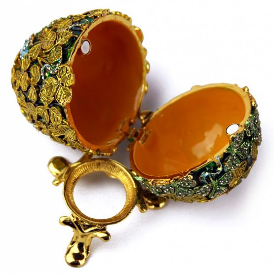 Clover Faberge Style Egg 2