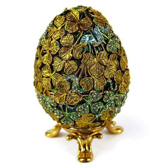Clover Faberge Style Egg 1