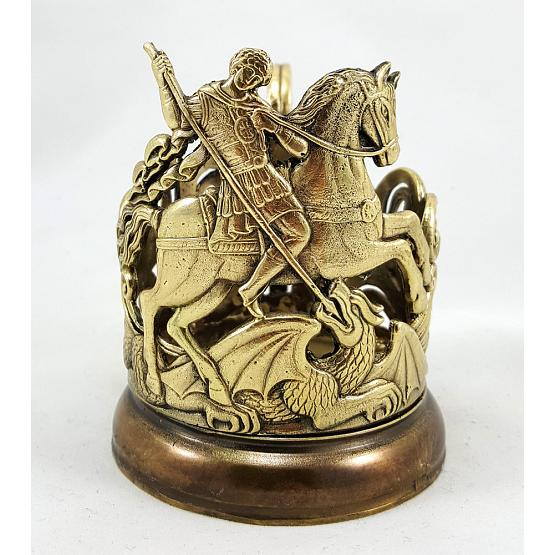 Saint George Glass Holder 1